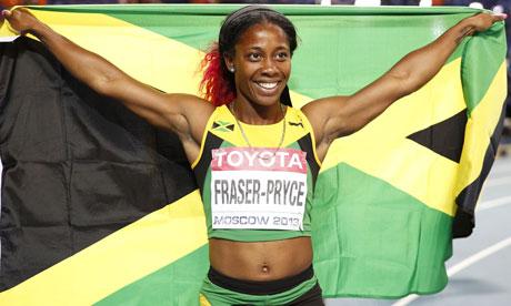 Jamaica's Shelly-Ann Fraser-Pryce